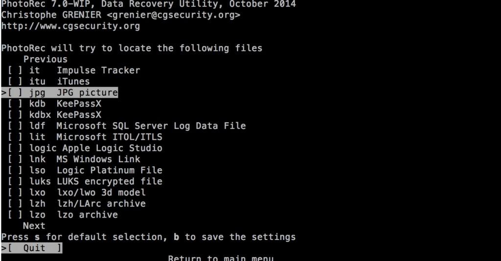 mac-undelete-no-file-type-selected